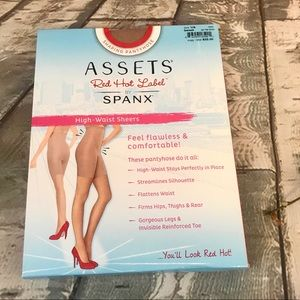 Assets Red Hot Label by Spanx High Waist Hose